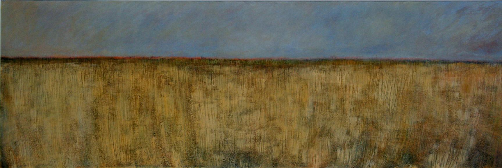 Okavango, 2009. Acrílico sobre lienzo. 50 x 126 cm